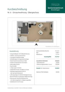Kurzbeschreibung Wohnung 6
