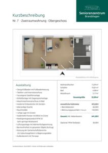 Kurzbeschreibung Wohnung 7