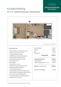 Kurzbeschreibung Wohnungen 9-10